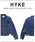 HYKE | HYKE type2(デニムジャケット)