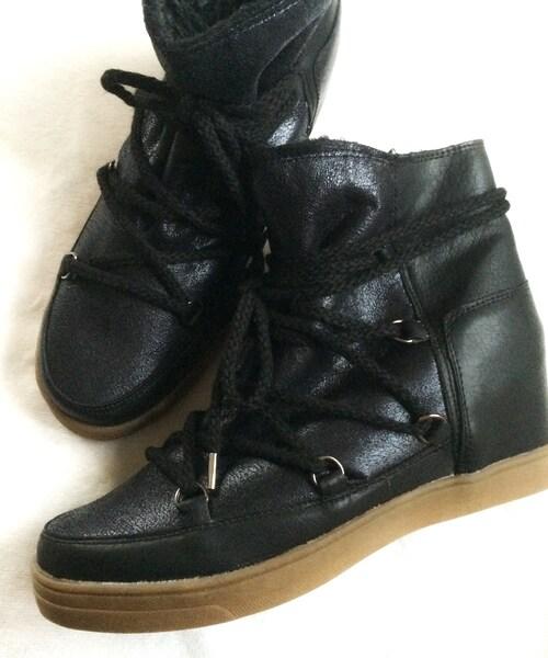 DONOBAN(ドノバン)の「DONOBAN/イザベルマラン風スニーカーブーツ(ブーツ)」