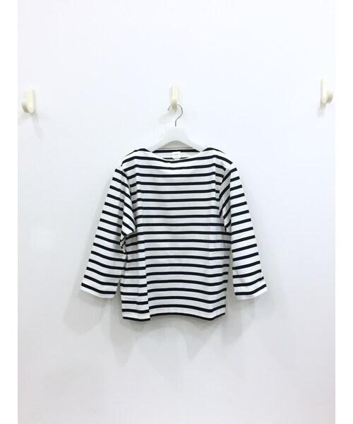 YAECA(ヤエカ)の「バスクシャツ(Tシャツ・カットソー)」