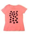 graniph | 当時少し嵌っていたチャップリンに似たデザインだったということと、鮭色に惹かれて購入 3枚¥5,000 (Tシャツ・カットソー)