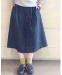 FWK by engineered garments | (デニムスカート)
