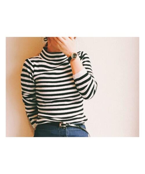 GU(ジーユー)の「ニット・セーター」