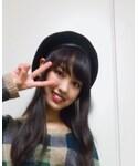 mon Lily | (ハンチング・ベレー帽)