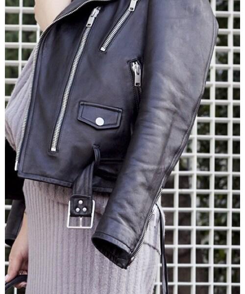 SAINT LAURENT PARIS「Riders jacket」