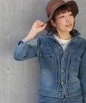 Le Melange | 裏毛G型2ndモデル(デニムジャケット)