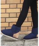 chumchum | chum chum / 撥水加工&インヒール付き オリジナルムートンブーツ(ブーツ)
