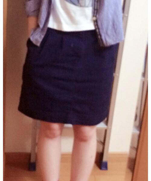 w closet(ダブルクローゼット)の「デニムスカート」