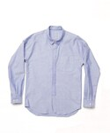 CYDERHOUSE | CYDERHOUSE fly front oxford shirt(シャツ・ブラウス)