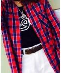 X-girl | (Tシャツ・カットソー)