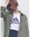 adidas | (Tシャツ・カットソー)