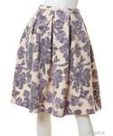Lily Brown | フラワーボリュームフレアスカート*PPL(スカート)