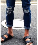 韓国服 | (Denim pants)