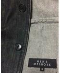 MEN'S MELROSE | メンズメルローズ。サイズ:L(3)(デニムジャケット)