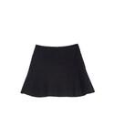 裾フレアディテールウールスカート(スカート)