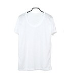 無地 tシャツ レディース/シンプルラウンドネックT(Tシャツ・カットソー)