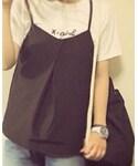 X-girl | CURSIVE LOGO S/S TEE(Tシャツ・カットソー)