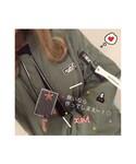 ☺︎よったんMADE✁✄☺︎ | H&M MA-1 + XGIRL PINS set + Me% タグ ⚐⚑⚐゛(ブルゾン)