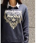 Hard Rock Cafe | Couture Crew Fleece Black(スウェット)