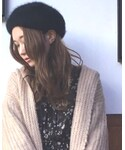 CA4LA | リバーシブルファーベレー(ハンチング・ベレー帽)