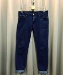 50% | 窄版牛仔褲(デニムパンツ)