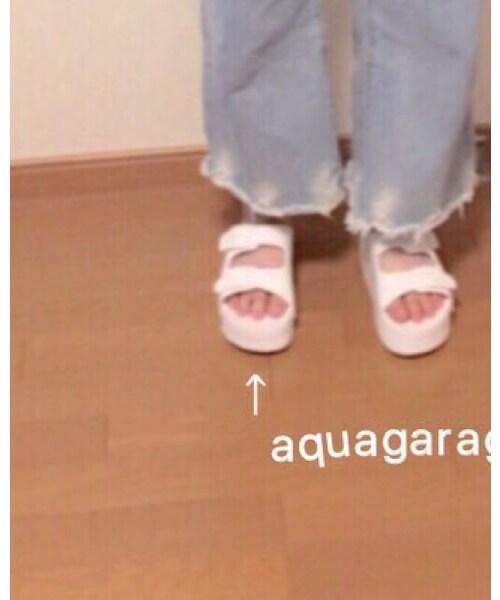 aquagarageの「サンダル」
