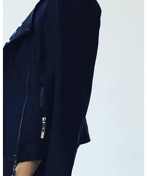 aquagarageの「ライダースジャケット」