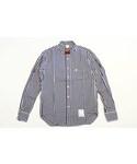 SAN | ピン付き ギンガムチェックシャツ(シャツ・ブラウス)