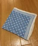 鎌倉シャツ | リネンペイズリーポケットチーフ(ハンカチ/ハンドタオル)