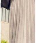 UNIQLO | ハイウエストミディプリーツスカート(スカート)