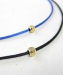 くび | コードネックレス(黒)(ネックレス)