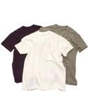 BLACK&BLUE | BLACK&BLUE 【ブラック&ブルー】 クルーネックTシャツ(Tシャツ・カットソー)