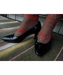 Enamel Pumps(BLK)(パンプス)