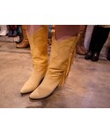 Suede Fringe Boots(ブーツ)
