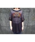 Design Mesh S/S Tops(Tシャツ・カットソー)