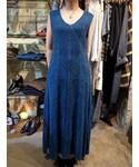 Ethnic O/P (BLU)(ドレス)