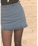 H&M | (Denim skirt)