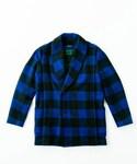 Barbudos | Barbudos M-036 Block check Blanket stitch Coat(その他アウター)