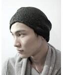 INAISCE | STACKED HAT [TAR](ニットキャップ・ビーニー)