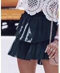 love shack fancy | (Skirt )