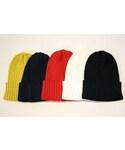 """E•W cloth """" LINEN WATCH CAP """"(ニットキャップ・ビーニー)"""