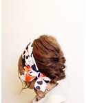 スカーフアレンジ | (その他ヘアアクセサリー)
