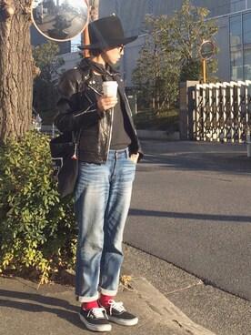 stylist komakiさんの(FPAR|フォーティーパーセントアゲインストライツ)を使ったコーディネート