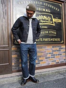SMART CLOTHING STORE 町田店 YusukeSuzukiさんの「510SW(Pherrow's)」を使ったコーディネート