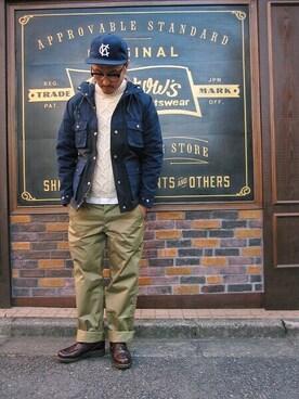 SMART CLOTHING STORE 町田店 YusukeSuzukiさんの「PMPK1(Pherrow's)」を使ったコーディネート