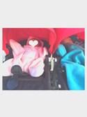 kzsuuuさんの「星型アフガン スターラップ 0-4M(新生児~生後4ヶ月頃) Tuppence&Crumble (タッペンス&クランブル)(babybaby select|ベイビーベイビーセレクト)」を使ったコーディネート