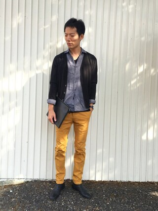 「n°44 Men's / OFFICINE CREATIVE / side gore(n゚ 44)」 using this kakuhou looks