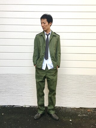 「Vintage British army  1964年製(MILITARY)」 using this kakuhou looks