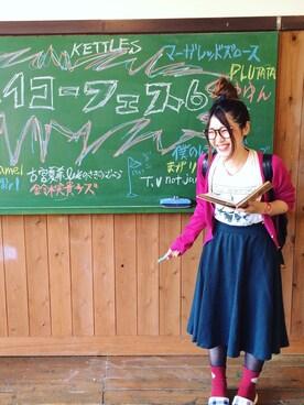 aki.さんの(earth music&ecology|アースミュージックアンドエコロジー)を使ったコーディネート