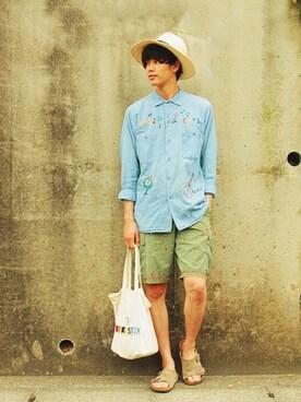 EATS|kaiki suzukiさんの(VINTAGE)を使ったコーディネート