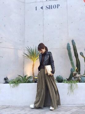 LIFE's堀江店|YUKO SAKAGUCHI さんのコーディネート